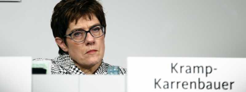 Bild: Annegret Kramp-Karrenbauer am 07.12.2018, über dts Nachrichtenagentur