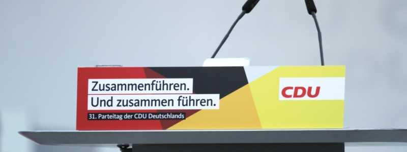 Bild: CDU-Parteitag Dezember 2018, über dts Nachrichtenagentur
