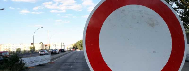 Bild: Halbseitig gesperrte Brücke, über dts Nachrichtenagentur
