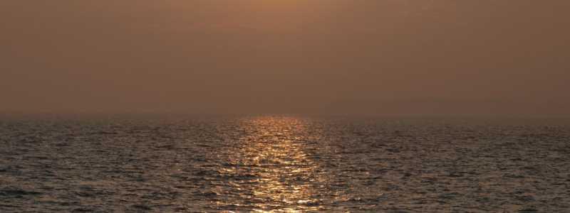 Bild: Sonnenuntergang über dem Meer, über dts Nachrichtenagentur