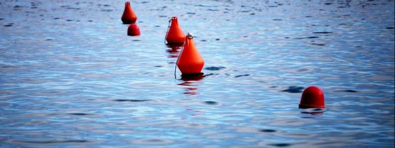Bild: Bojen im Meer, über dts Nachrichtenagentur