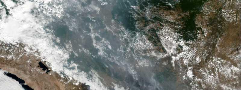 Bild: Satellitenbild von Waldbränden in Brasilien, NASA/EOSDIS, über dts Nachrichtenagentur