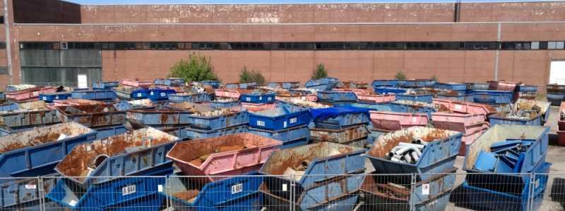 Bild: Container für Schrott und Abfall, über dts Nachrichtenagentur