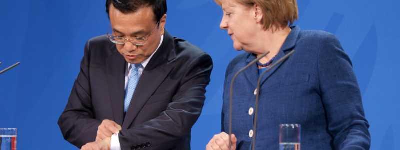 Bild: Li Keqiang und Angela Merkel, über dts Nachrichtenagentur