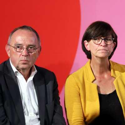 Bild: Norbert Walter-Borjans und Saskia Esken, über dts Nachrichtenagentur