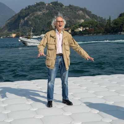 "Bild: Christo - ""The Floating Piers"""
