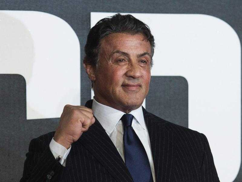 Sylvester Stallone - Foto: So kennt man Sly. Foto: Will Oliver