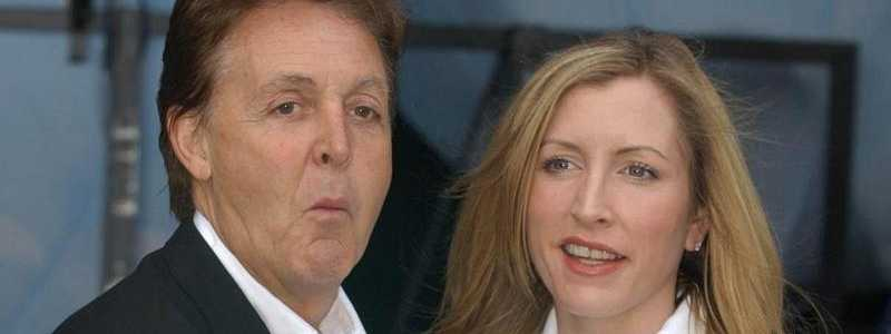 Paul McCartney + Heather Mills - Foto: Rui Viera