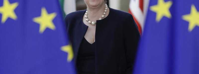 Theresa May - Foto: Thierry Roge