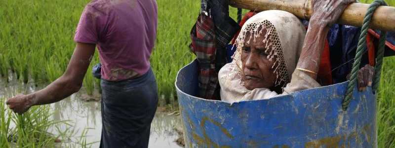 Rohingya-Flüchtlinge - Foto: Md. Mehedi Hasan/Pacific Press via ZUMA Wire