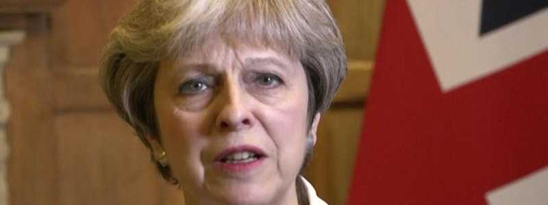 Theresa May - Foto: UK Government via AP Video